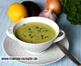 Avocado-Suppe Rezept