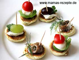 Blinis mit Backpulver