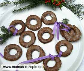 Braune Adventsringe