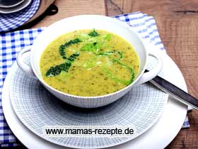 Cremige Wirsingsuppe