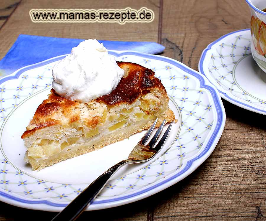 apfel quarkkuchen mamas rezepte mit bild und. Black Bedroom Furniture Sets. Home Design Ideas