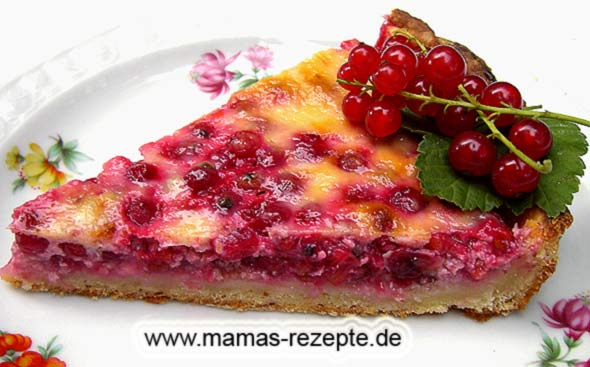 johannisbeer kuchen mamas rezepte mit bild und. Black Bedroom Furniture Sets. Home Design Ideas