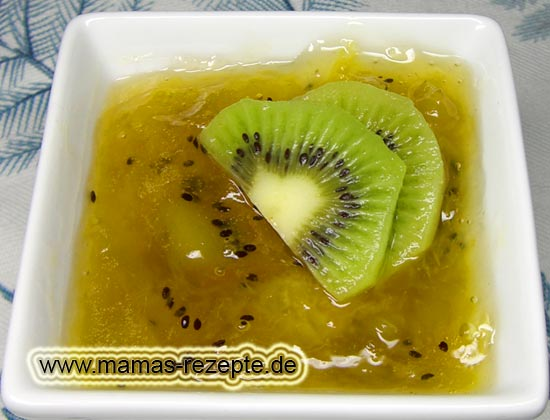 kiwi marmelade mamas rezepte mit bild und. Black Bedroom Furniture Sets. Home Design Ideas