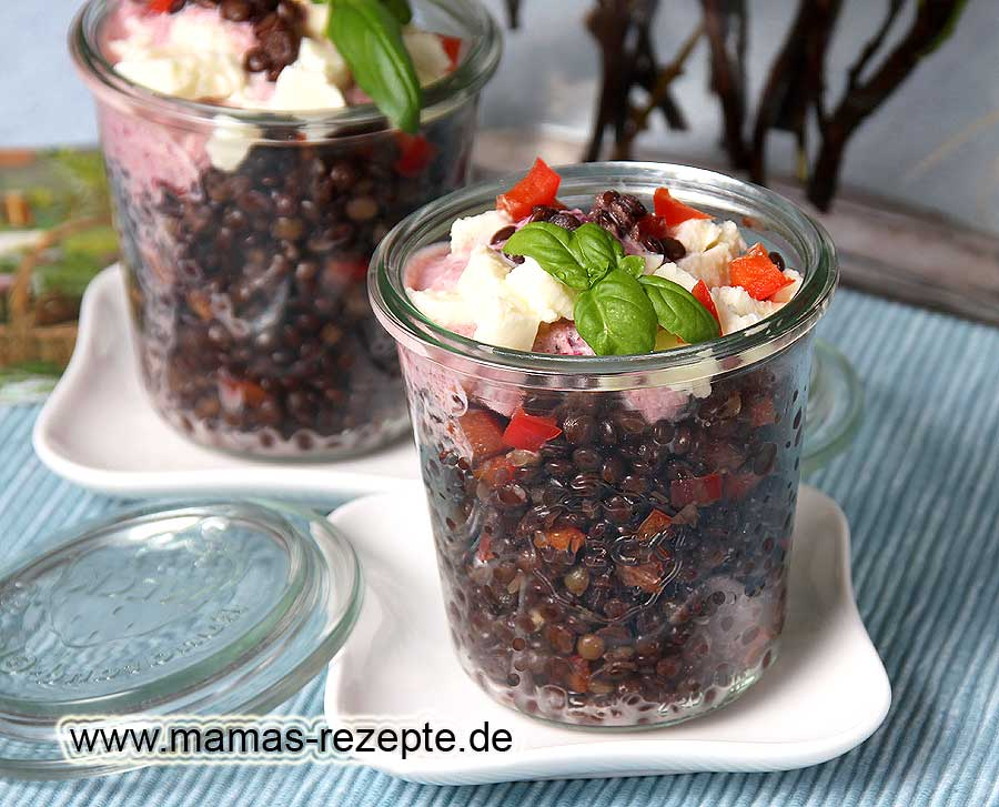 rote linsen salat mit roter bete