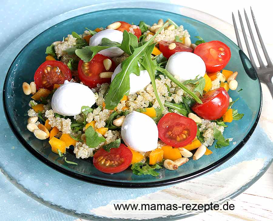 quinoa salat mit rucola mamas rezepte mit bild und. Black Bedroom Furniture Sets. Home Design Ideas