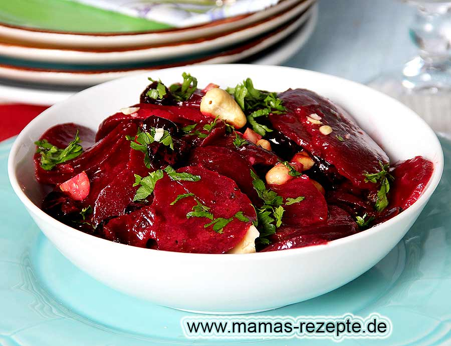 rote bete salat mit cranberries mamas rezepte mit bild. Black Bedroom Furniture Sets. Home Design Ideas