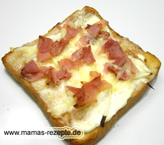 flammkuchen toast mamas rezepte mit bild und kalorienangaben. Black Bedroom Furniture Sets. Home Design Ideas