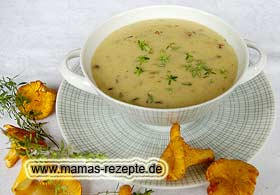 Pfifferling - Cremesuppe