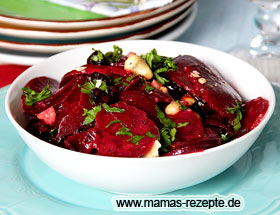 Rote Bete Salat fruchtig