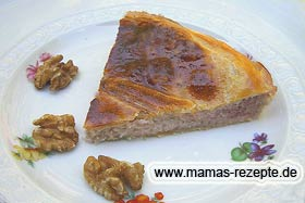 Walnuss - Quark - Kuchen